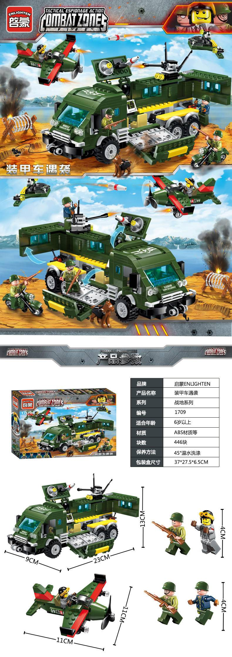 二战:装甲车遇袭