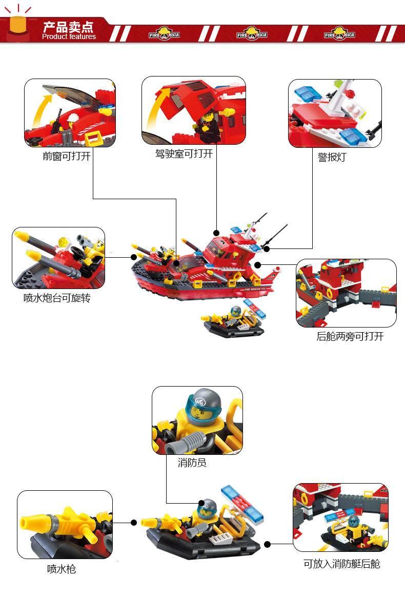 消防:喷水消防艇