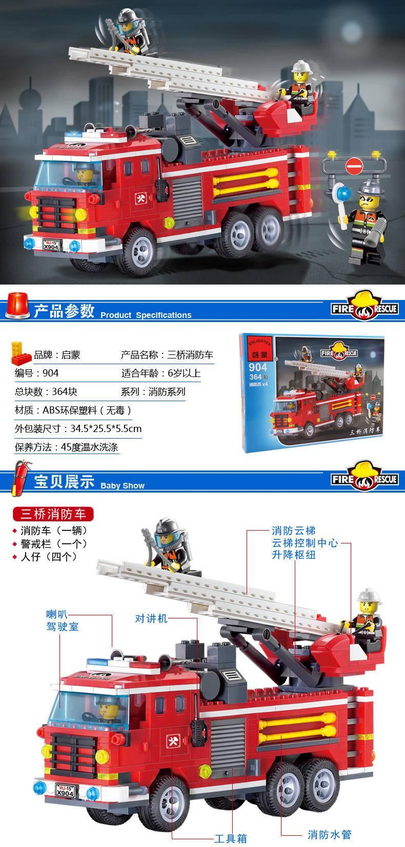 消防:三桥消防车