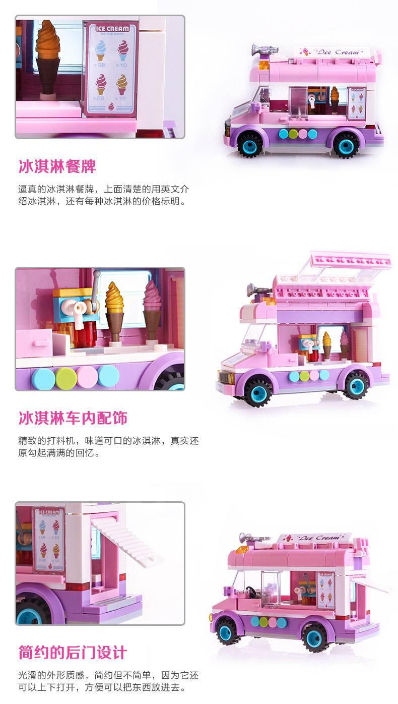 移动冰淇淋车