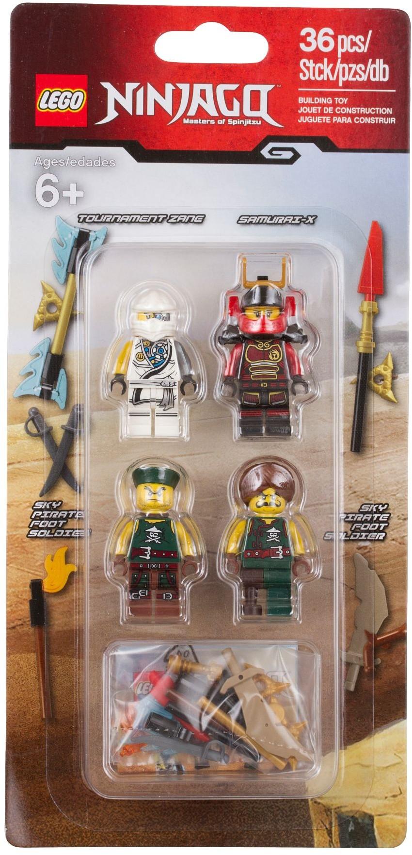 Sqiffy Zane Cyren Nya -Kai -Clouse LEGO Ninjago Figuren Cole -Krait